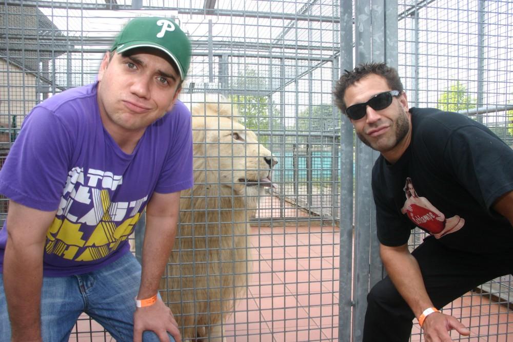 "Die Rockband ""The Bloodhound Gang"" im Zoo Safari- und Hollywoodpark Stukenbrock"