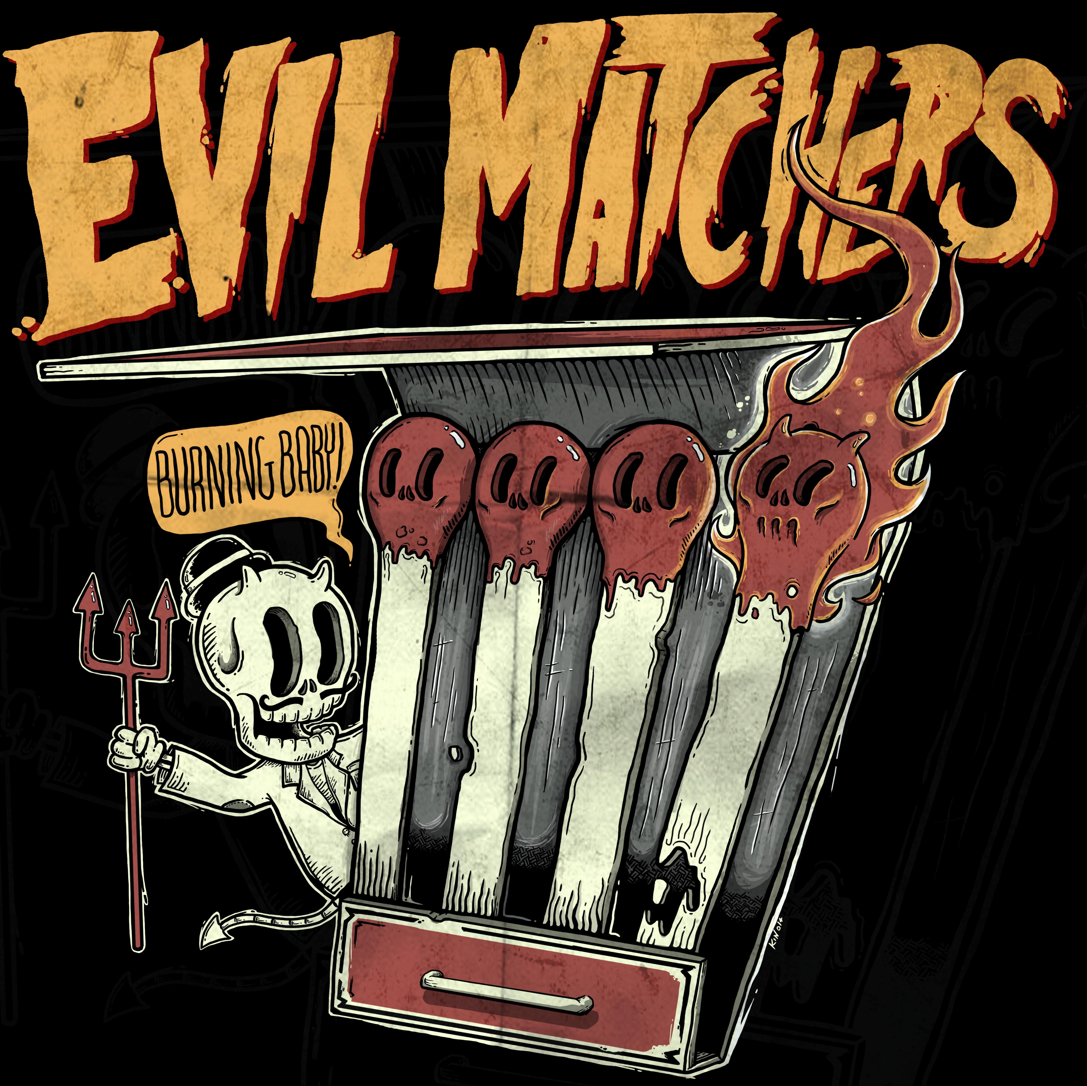 evil matchers_preto