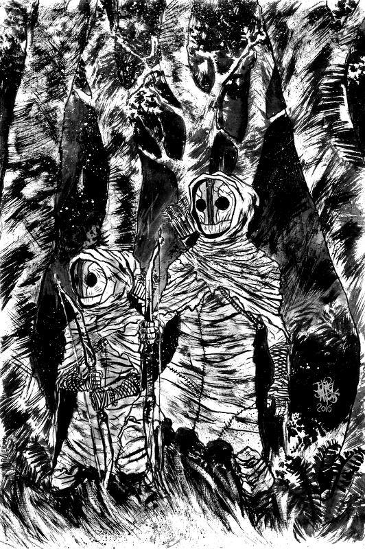 Ilustração de Joniel Santos