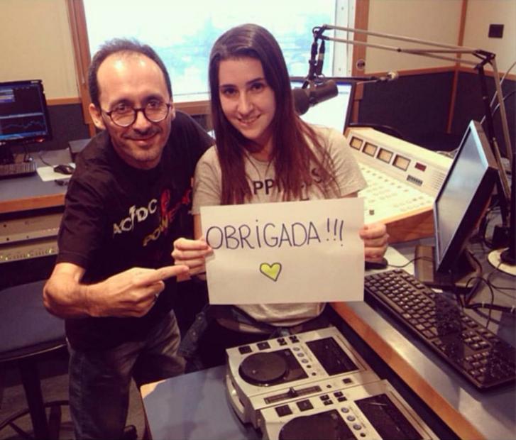 Rádio Brasil 2000 - Osmar Santos Jr e Ana Helena Rainere