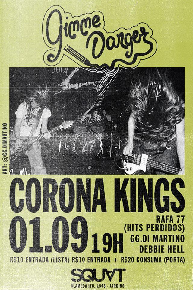 Corona Flyer Hits Perdidos