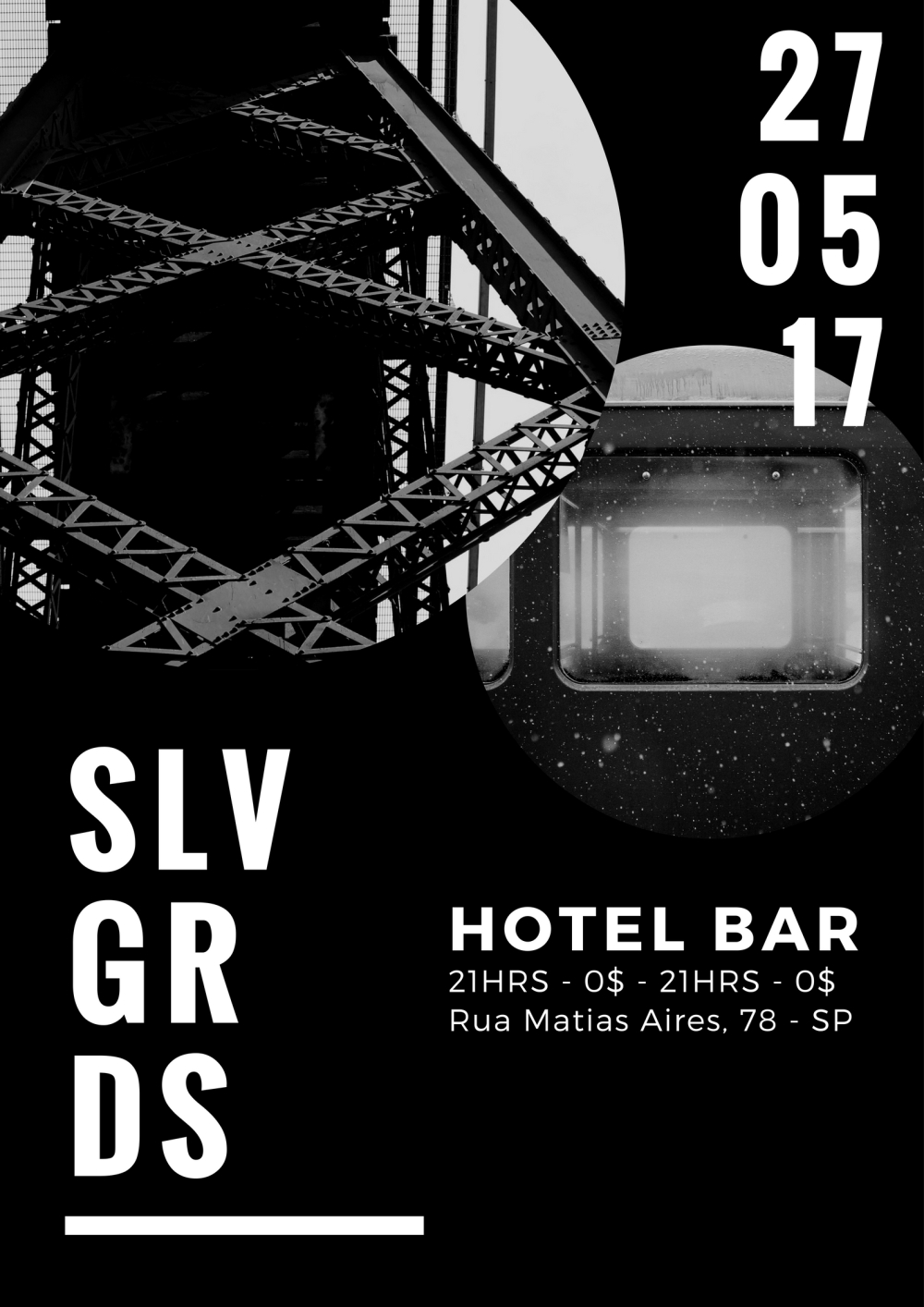 SLVGRDS@hotelbar