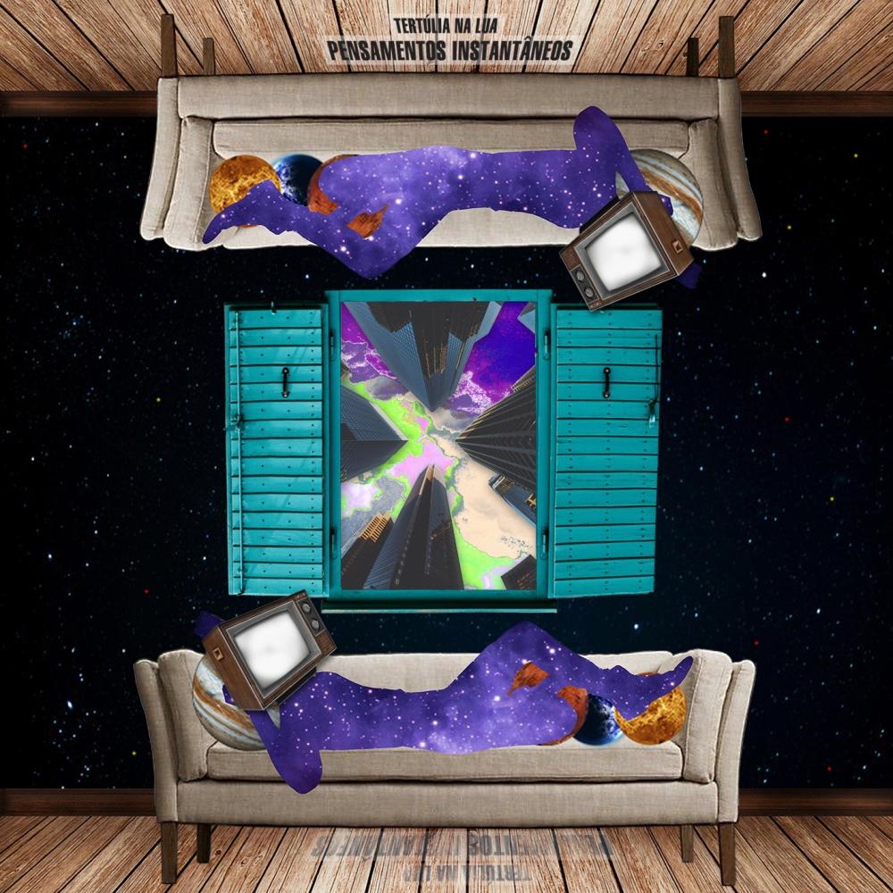 EP pensamentos instantâneos - Tertulia na Lua - Capa