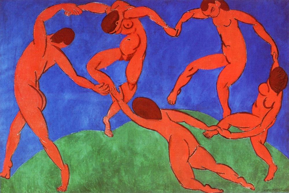 Dance II - Henri Matisse - 1910