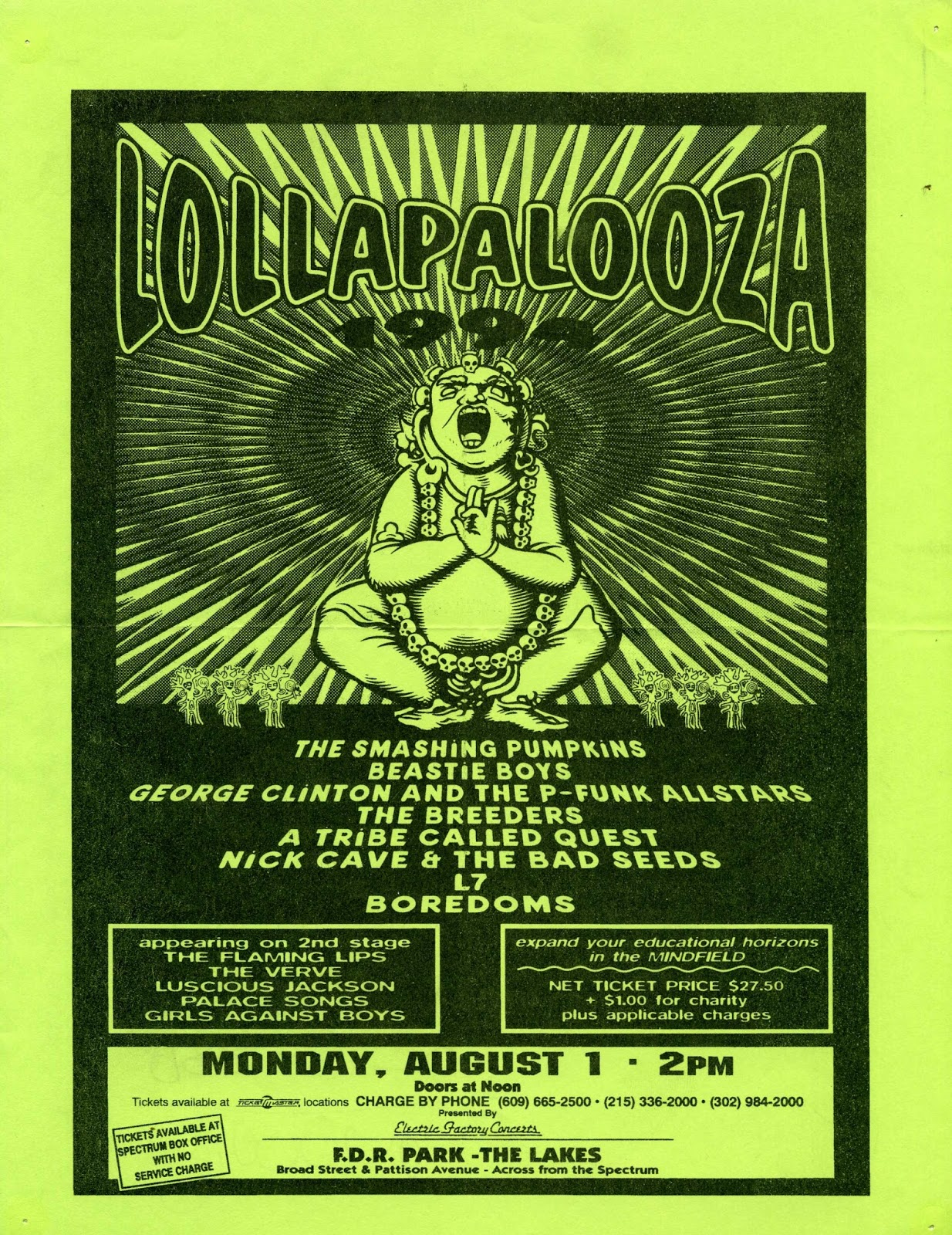 Lollapalooza 94 - Philly, PA